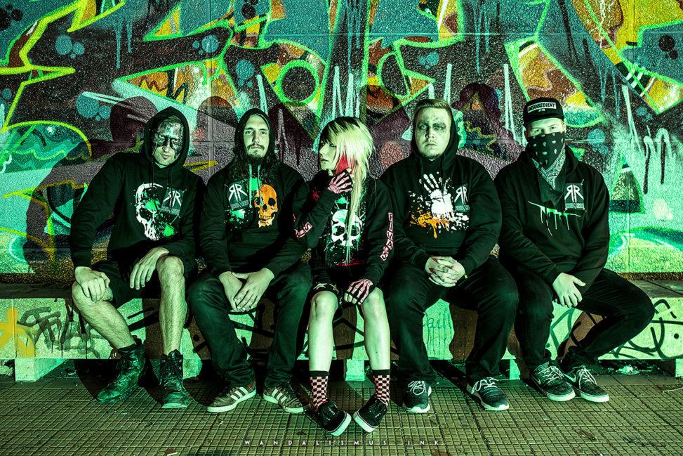 Rebels + Rivals band shooting, Berlin 2015 © WANDALISMUS.INK