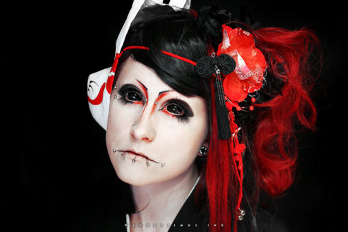 Samira Kimono Shooting 2014 © WANDALISMUS.INK